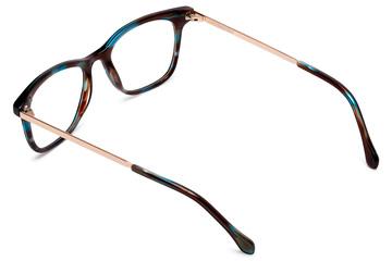 Hopper eyeglasses in tide pool viewed from rear