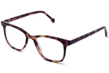 Hopper eyeglasses in sazerac viewed from front
