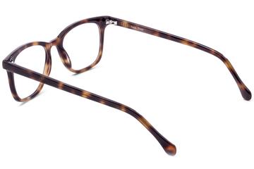 Hopper eyeglasses in sazerac viewed from angle