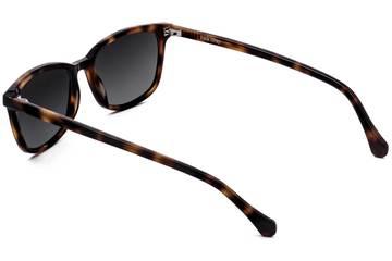 Faraday sunglasses in sazerac viewed from rear