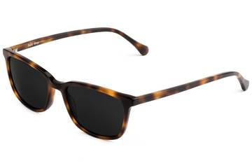 Faraday sunglasses in sazerac viewed from angle