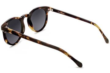 Turing sunglasses in whiskey tortoise viewed from rear