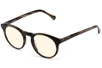 Turing sleepglasses in horn viewed from angle