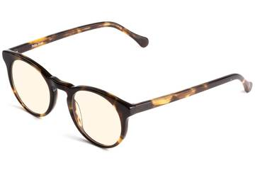 Turing sleepglasses in whiskey tortoise viewed from angle