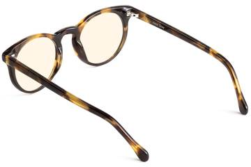 Turing sleepglasses in whiskey tortoise viewed from rear