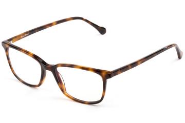 Faraday eyeglasses in sazerac viewed from front