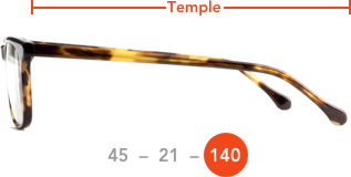 Temple length mobile