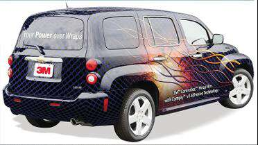 3M IJ380Cv3 printed wrap. Photo courtesy of 3M USA.