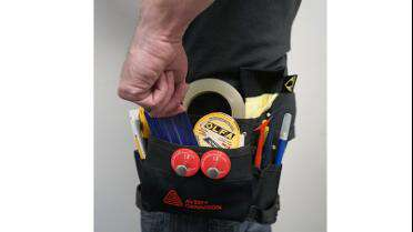 Avery Wrap Tool Belt in use.  Photo courtesy of FELLERS.