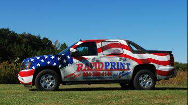 Custom wrap printed with 3M IJ380Cv3. Photo courtesy of Rapid Print, Jacksonville, FL.
