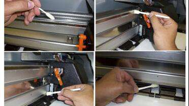 Mutoh ValueJet 64 Maintenance Cleaning Kit. Photo courtesy of Mutoh.