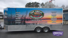 Wrapped in Arlon SLX Cast Wrap and Series 3270 Lam by Cherryville Signs & Graphics, Cherryville, NC.