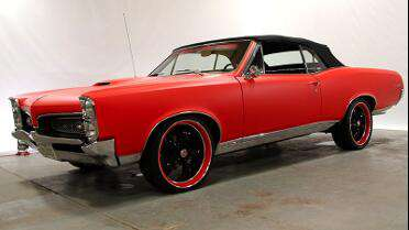 Frank's GTO wrapped with 3M 1080 Matte Red.