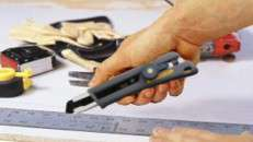 Olfa Hand Save Utility Knife. Photo courtesy of Olfa.
