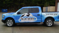 Wrapped in Arlon SLX Cast Wrap by On-Site Graphics, Grayson, GA.