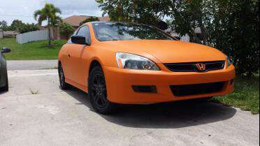 Avery SW 900 Matte Orange. Photo courtesy of All Under Wraps,Cape Coral, FL.