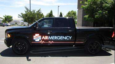 Orafol 5650RA printed vehicle graphics. Photo courtesy of Modesto Reprographics, Modesto, CA.