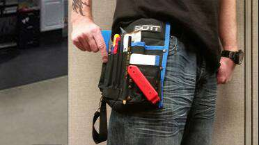 SOTT Tool Bag in use.