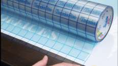 TransferRite Medium Tack 1310 Ultra Clear with Grid. Photo courtesy of American Biltrite.