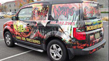 Arlon DPF 6000XRP printed wrap. Photo courtesy of Savage Wraps.