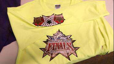 Sojar Printable Heat Transfer printed t-shirt graphic. Photo courtesy of Tournament Wear INC, Coeur D'Alene, ID.