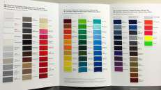 3M 7125 High Performance Vinyl Color Card
