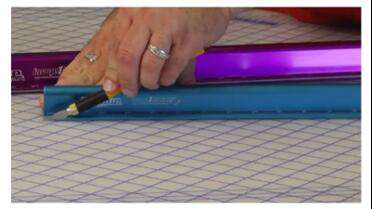 Image One Impact Big Blue Safety Ruler. Photo courtesy of Image One Impact.