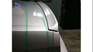 Knifeless Tech Systems Knifeless Tape being applied to car before wrap. Photo courtesy of Wrap Bros, Sanger, CA.