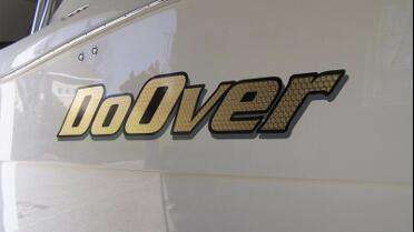 Boat Name using 22 Karat Sign Gold.  Photo courtesy of Coastal Graphics7.
