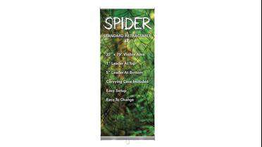 SPIDER Economical Retractable Banner Stand