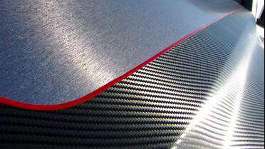 3M 1080 Black Carbon Fiber. Photo courtesy of 3M USA.