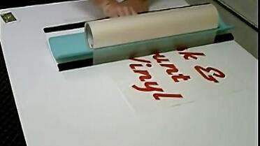 Big Squeegee Laminator. Photo courtesy of Big Squeegee.