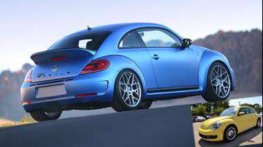 Orafol 970RA Metallic Matte Azure Blue. Photo courtesy of Orafol.