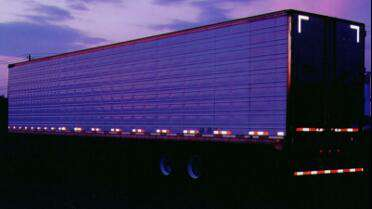 "Orafol Reflexite V92 2"" on truck trailer. Photo courtesy of Orafol USA"
