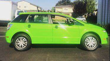 Avery SW900 Gloss Grass Green wrap. Photo courtesy of Custom Vehicle Wraps, San Leandro, CA.