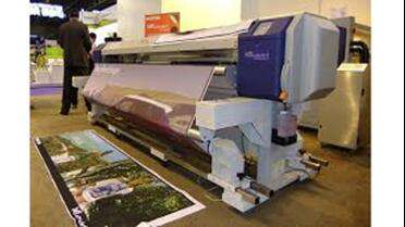"Mutoh 64"" ValueJet 1638 Dual Head HD. Photo courtesy of Mutoh."