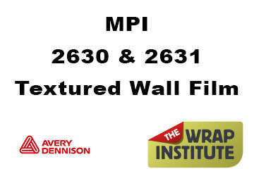 Avery MPI 2630 & 2631 6Mil-8Mil Digital Textured Wall Film