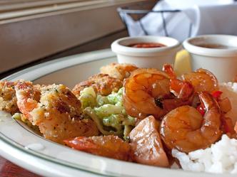 Shrimp dinner f1kufpod