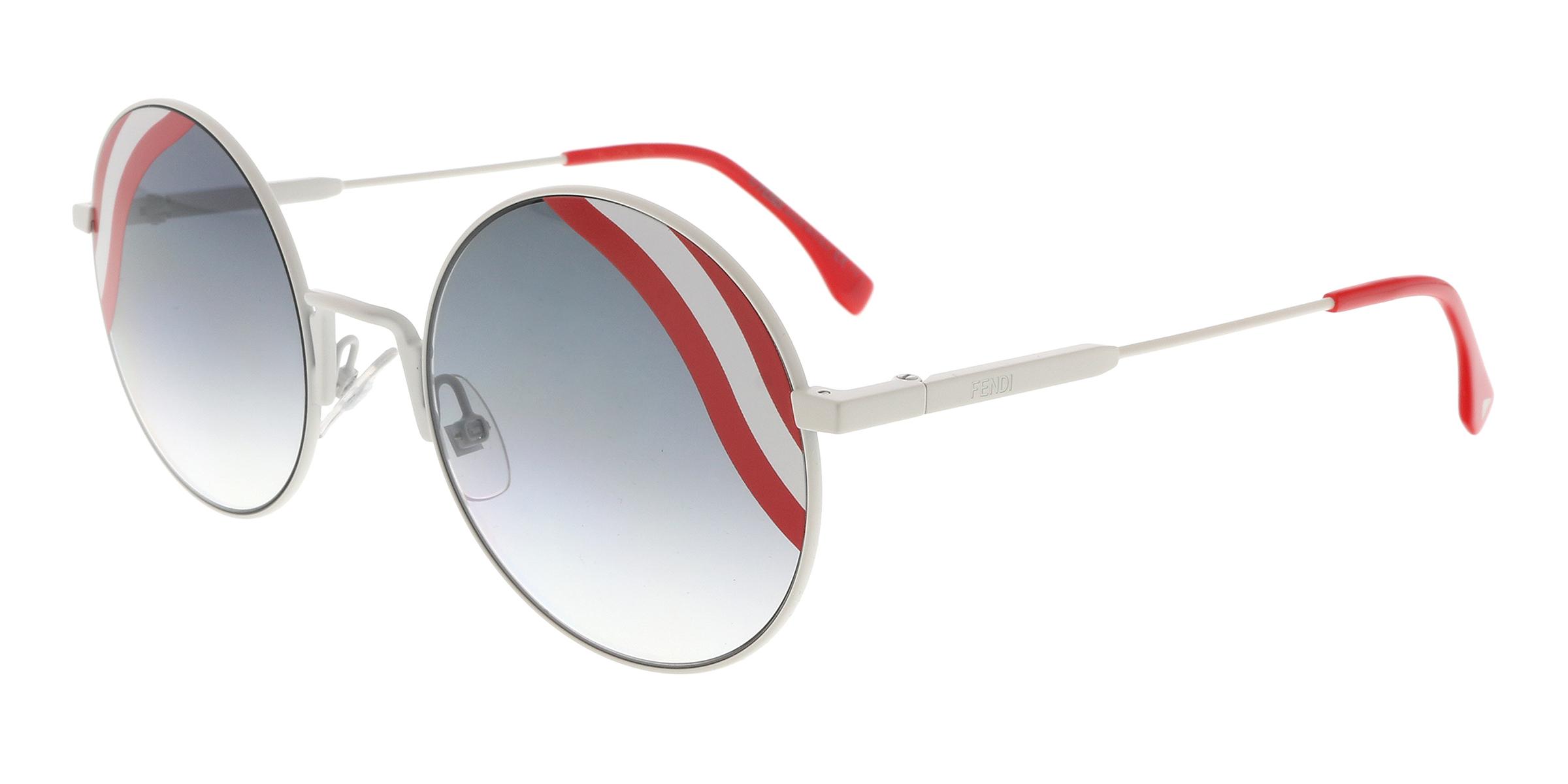 2a76a58f6926 Fendi Sunglasses FF 0248 s Vk69o - 54 White   Dark Gray for sale ...
