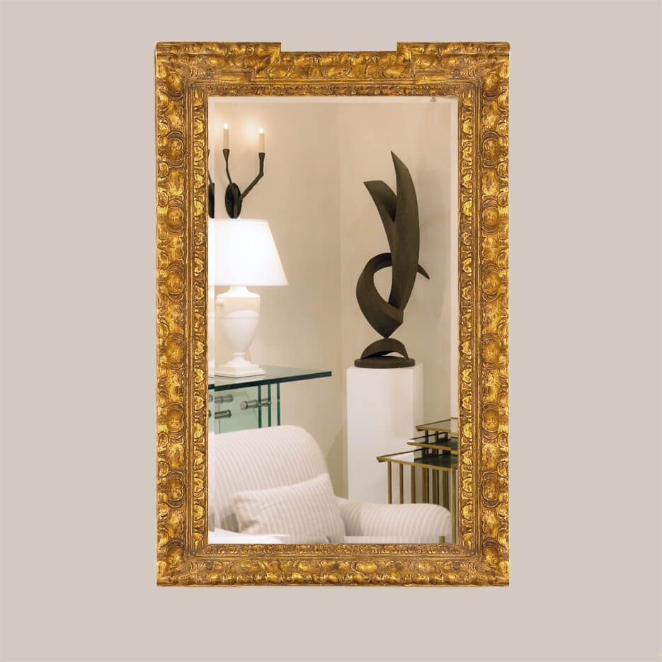 5003-B Custom Shell Mirror With Bevel-1