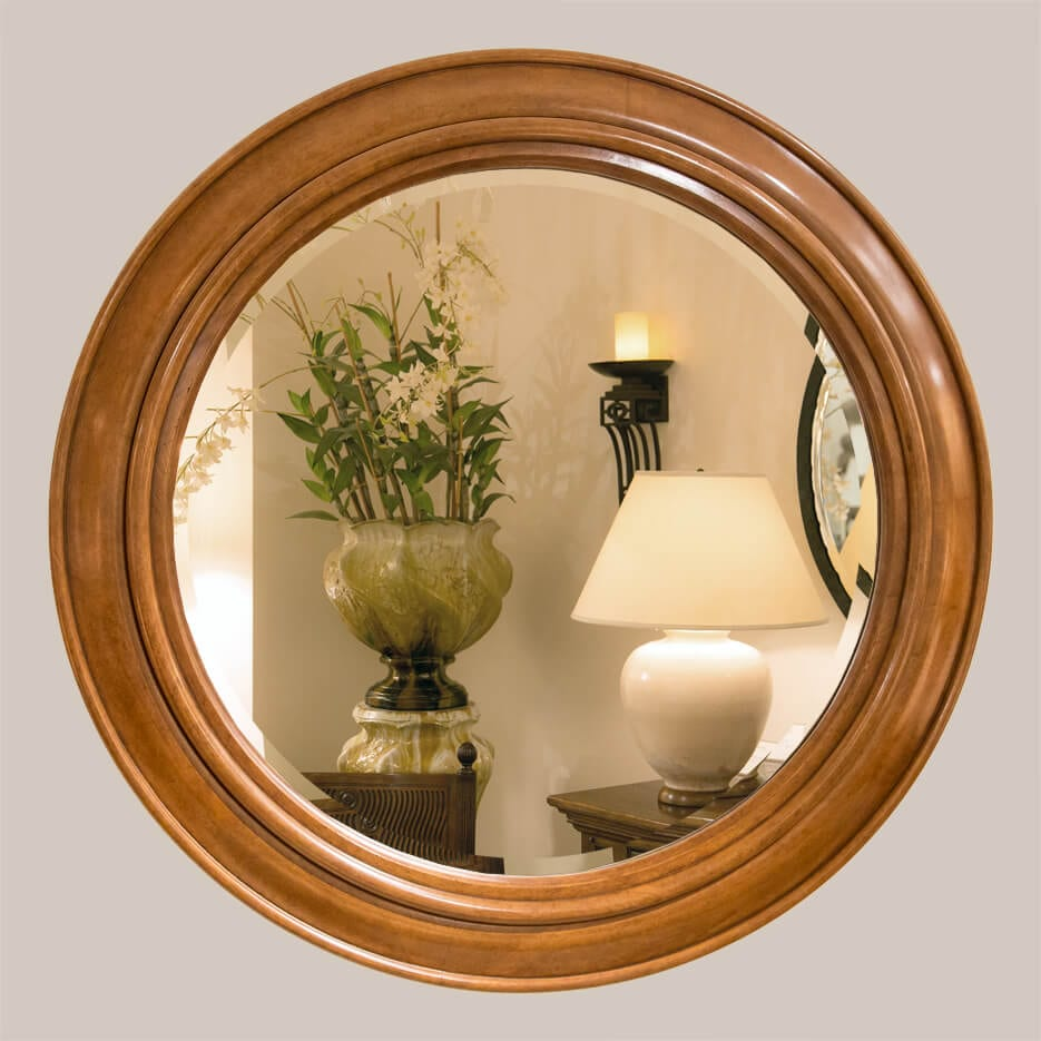 5014-Circle Mirror with Bevel-1