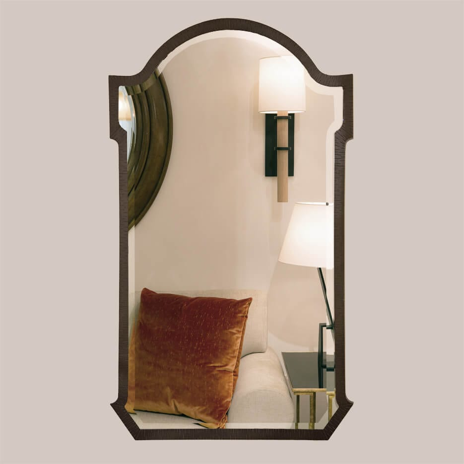 5017-Arch Mirror with Bevel-1