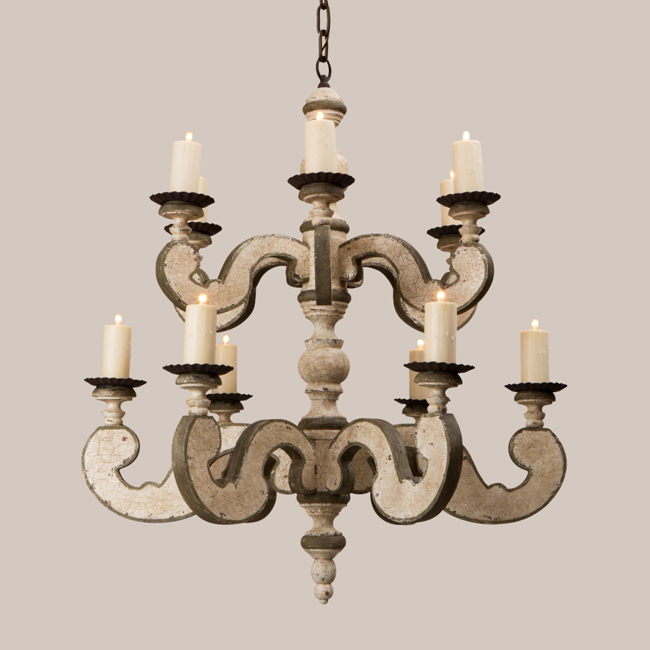 2014 country chandelier - Paul Ferrante Chandelier