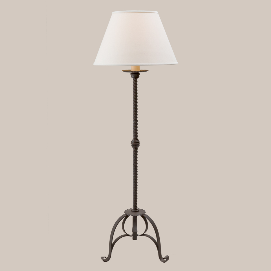 3021 rope floor lamp paul ferrante for Floor lamp with rope stand