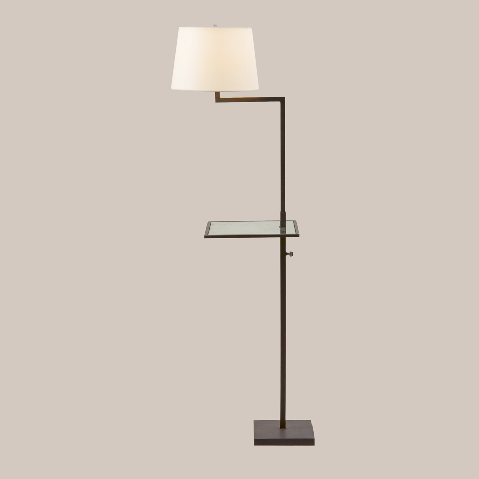 3051-T Sonoma Floor Lamp with Tray | Paul Ferrante
