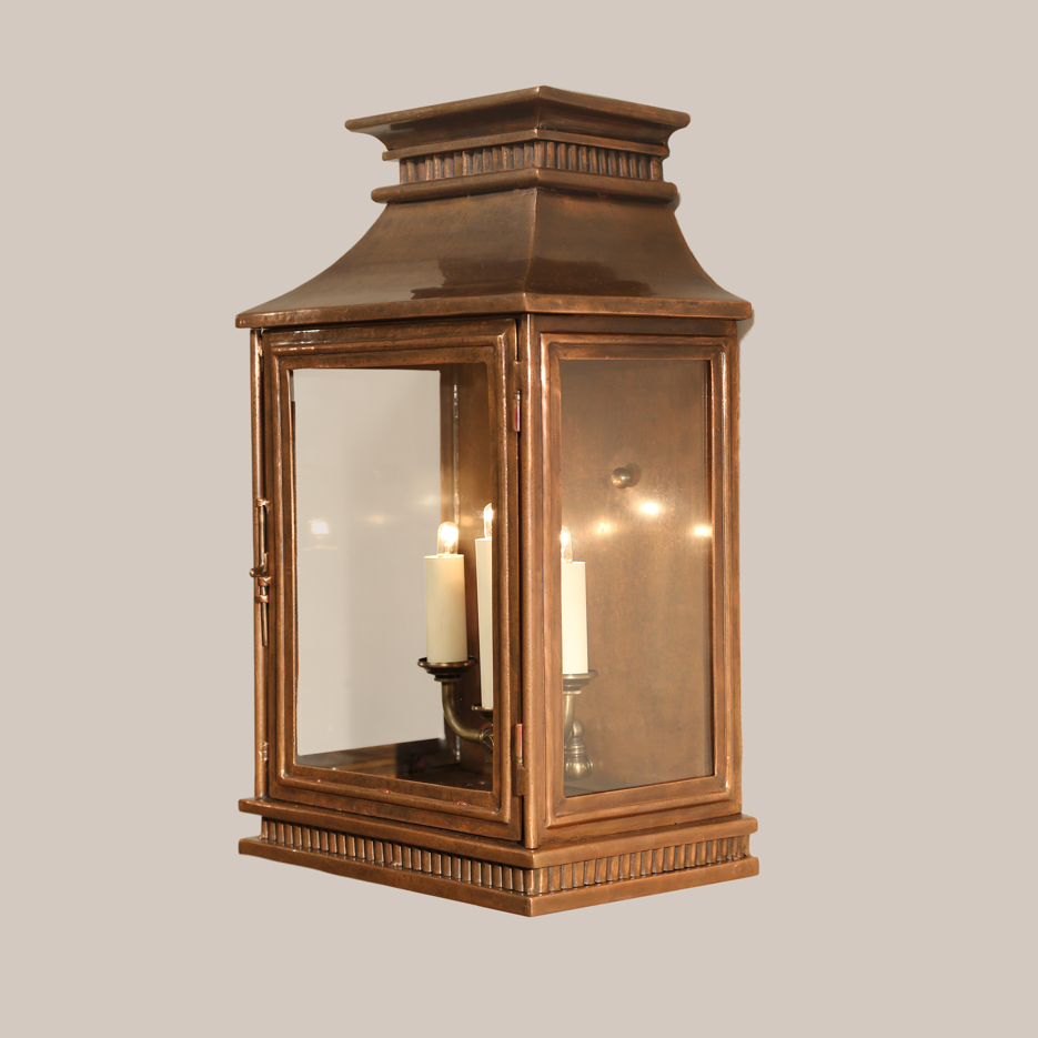 Chinese Lantern Wall Lights : 4143-C Copper Jefferson Wall Lantern Paul Ferrante