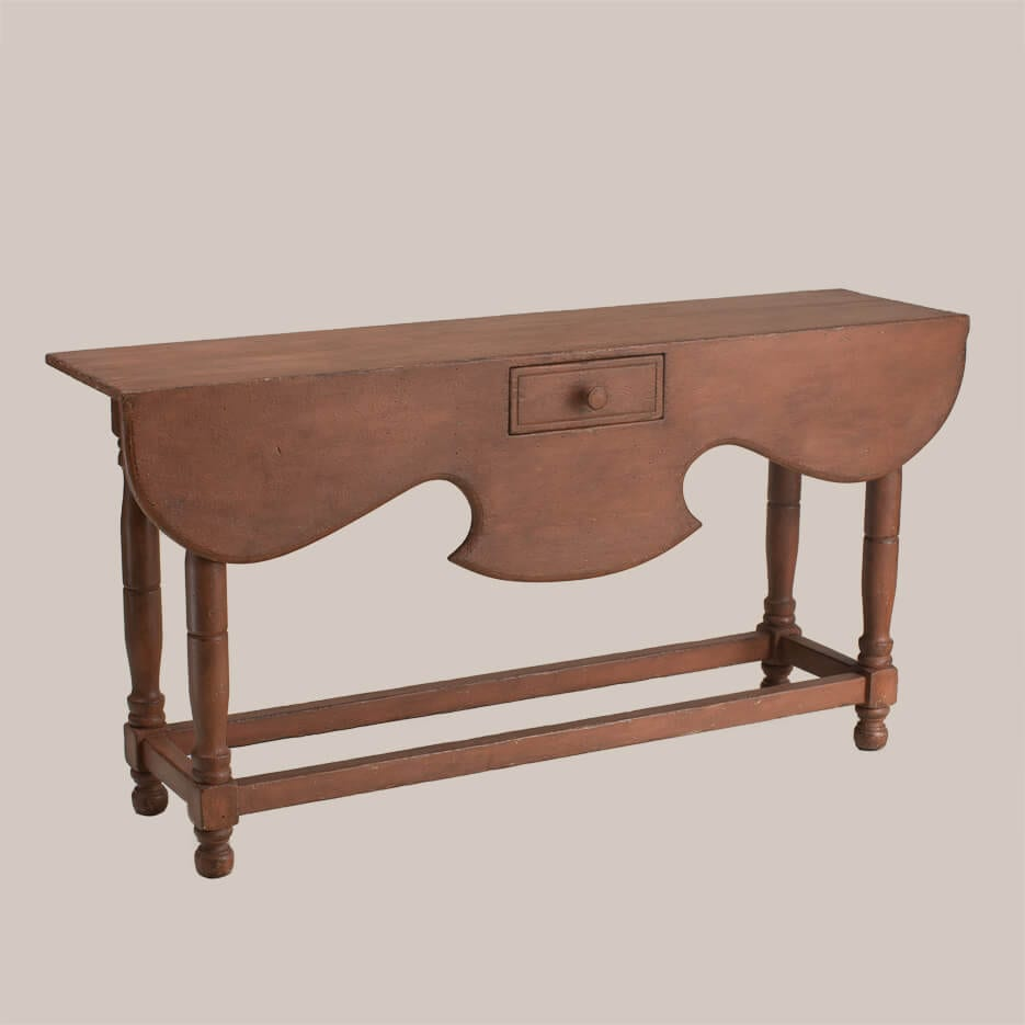6102-Mulberry Side Table with Drawer-1