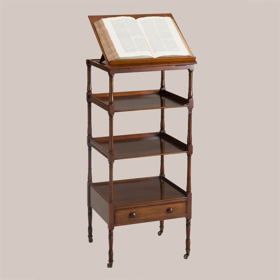 6146-Standard Etagere w-Bookstand-1
