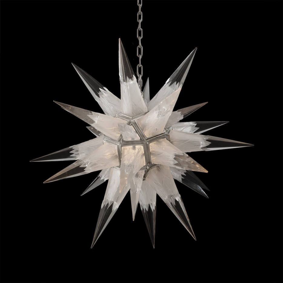 2208 crystal star - Paul Ferrante Chandelier