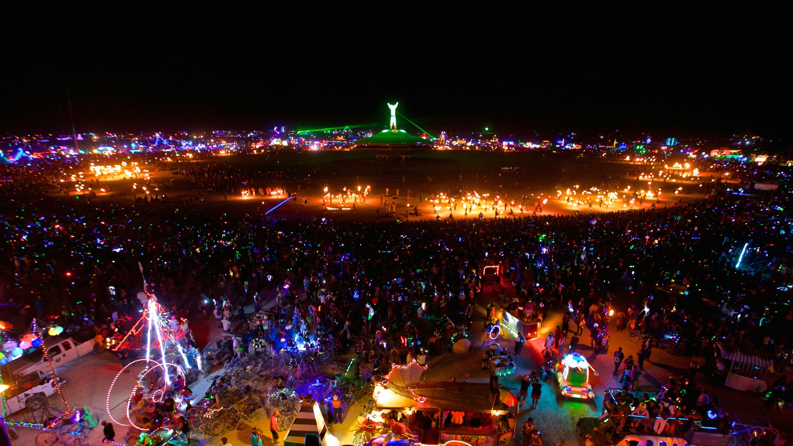 Hero Burning Man Sidney Erthal